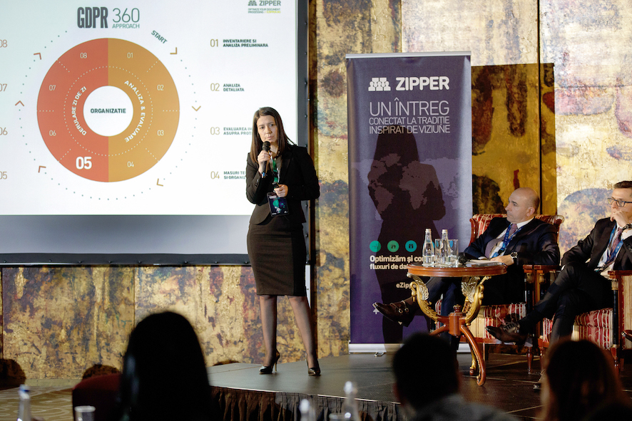 Eveniment GDPR 360 - Adriana Radulescu - Zipper Romania