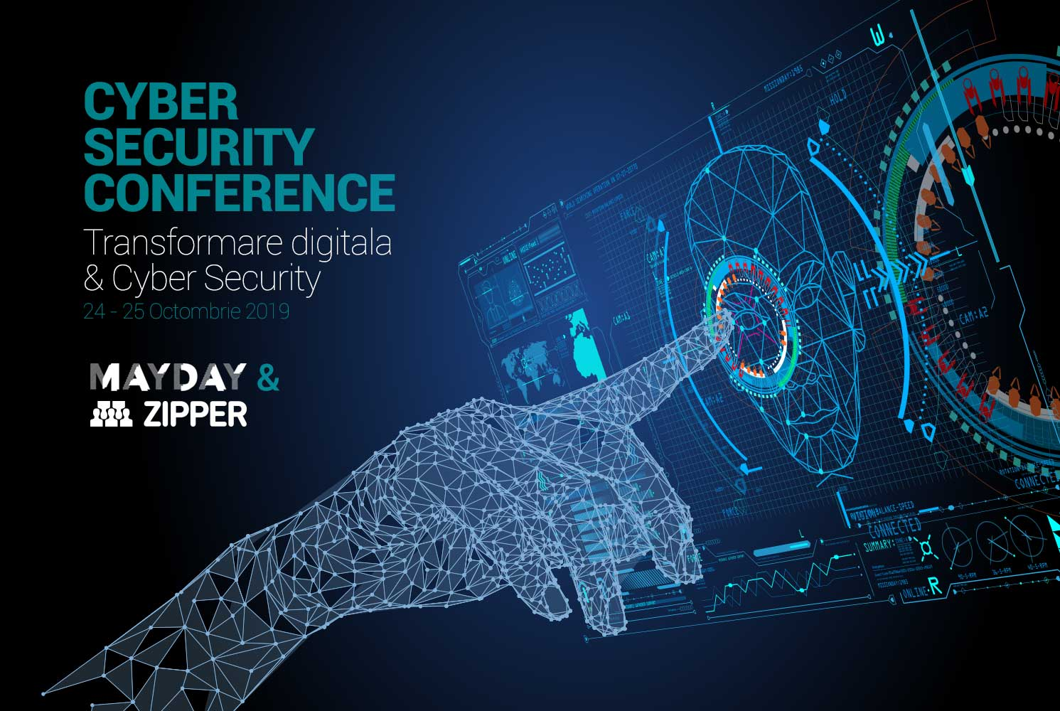 Zipper Romania sustine Transformarea digitala & Cyber Security in cadrul MayDay Conference